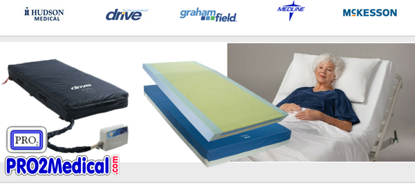 Buy Hospital Bed Mattress and Sleeping Support Surface at PRO2 Medical Supplies in Lubbock