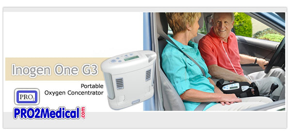 Buy Inogen One G3 Oxygen Portable Machine at PRO2 Medical Supply in Lubbock Texas
