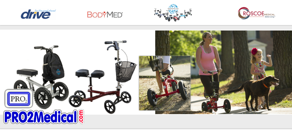 Buy Knee Walker Scooters at PRO2 Medical Supplies in Lubbock