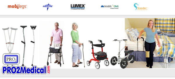Buy Mobility Aids for your Physical Therapy at PRO2 Medical Supplies in Lubbock
