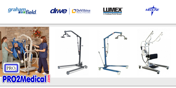 Buy Patient Lift to Assist Caregiver and Nurse to Transfer Patient out of Bed at PRO2 Medical Equipment