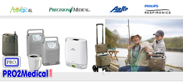 Buy Portable Oxygen Concentrator POC at PRO2 Medical Supplies in Lubbock Texas