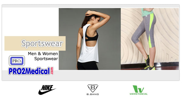 Buy Sportswear for Men and Women at PRO2 Medical