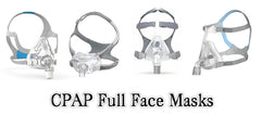 Shop CPAP Full Face Masks at PRO2 Medical Supply Shop in Lubbock Texas