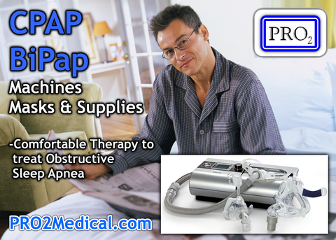 CPAP and BiPap Machine, Mask from PRO2 Medical Lubbock Texas