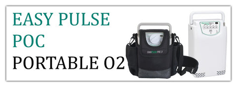 EasyPulse POC Portable Oxygen Concentrators at PRO2 Medical Equipment Lubbock TX