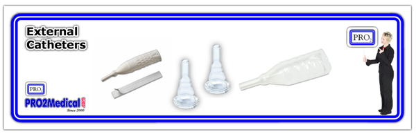 Shop External Urinary Male Catheters from PRO2 Medical