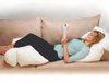 Get comfee on the couch with Flip Bed Wedge Pillow