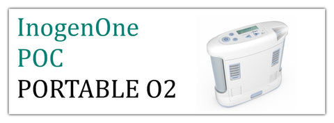 Inogen One Portable Oxygen Concentrators at PRO2 Medical Equipment Lubbock TX