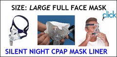 CPAP Large Full Face Mask Liners