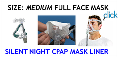 CPAP Medium Full Face Mask Liners