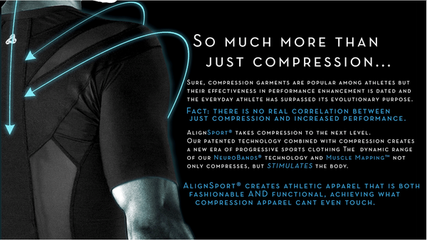 Much more than a Compression Shirt, AlignSport prevents injury and improves performance.