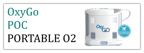 OxyGo Portable Oxygen Concentrators at PRO2 Medical Equipment Lubbock TX