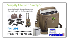 Shop SimplyGo Portable Oxygen Concentrator at PRO2 Medical