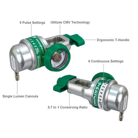 Buy Best Oxygen Cylinder Conserver Regulator at PRO2 Medical Equipment in Lubbock TX