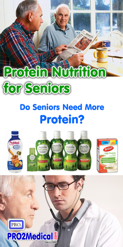 Do Seniors need Supplemental Protein Drinks?