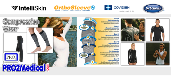 Shop Compression Wear Shirts Bras Tights at PRO2 Medical