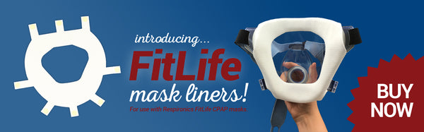 Silent Night Liner for FitLife CPAP Masks at PRO2 CPAP Supplies in Lubbock Texas