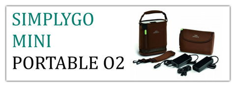 Philips Respironics SimplyGo Mini Portable Oxygen Concentrators at PRO2 Medical Equipment Lubbock TX