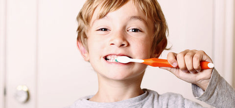 ACT Anticavity Fluoride Rinse provides a healthy habit for your childs teeth health.