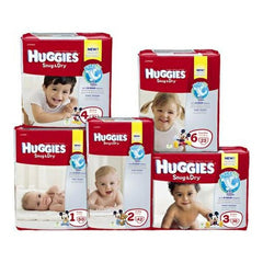 Size 3 Heavy Absorbency Disposable Baby Diaper | Huggies #40668