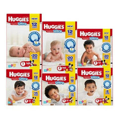 Size 3 Heavy Absorbency Disposable Baby Diaper | Huggies #40701