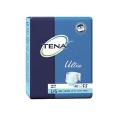 TENA Large Incontinent Brief Ultra Brief Tab Disposable Heavy Absorbency | TENA #67300
