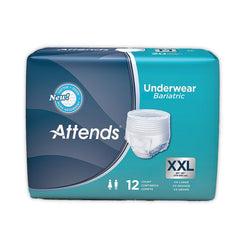 Adult Absorbent Underwear Attends Pull On 2X-Large Disposable Heavy Absorbency | Attends