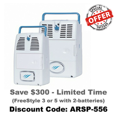 AirSep FreeStyle Portable Oxygen Concentrator POC | AirSep