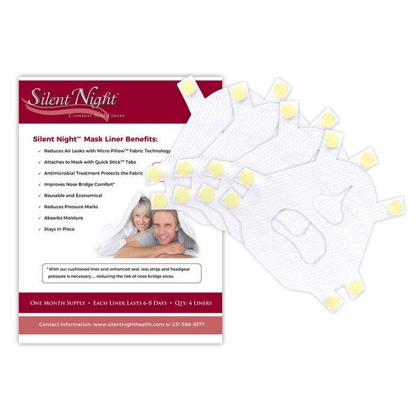 CPAP Mask Liner for CPAP, APAP & BiPAP Masks | Silent Night