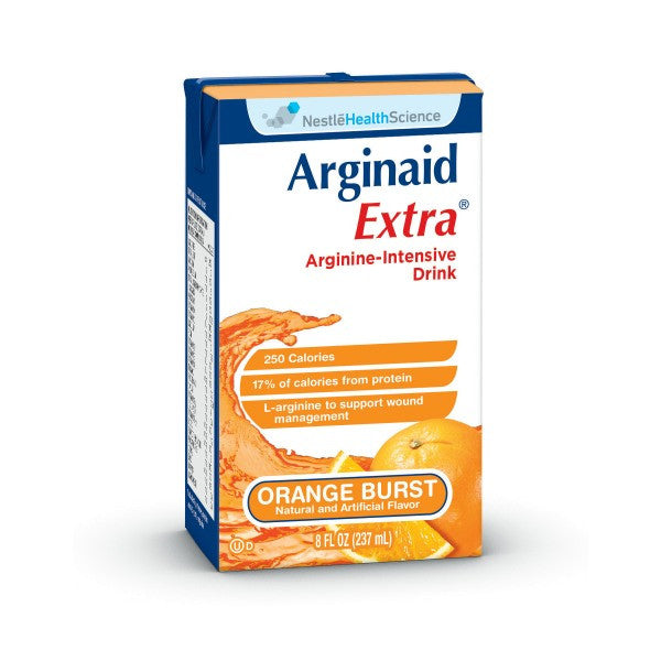 Arginaid Extra 27ea x 8 fl oz Tetra Brik | Nestle Nutrition - PRO2 Medical Equipment Lubbock