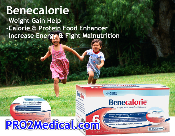 BENECALORIE Nutritional Powder, Unflavored 24ea x 1.5 fl oz cups | Nestle Nutrition
