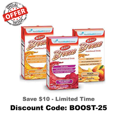 Boost Breeze Nutritional Drink Tetra Brik 8 oz | Nestle Nutrition #18620000