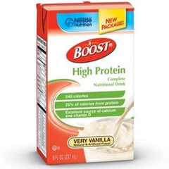 Boost High Protein Tetra Brik 27ea/case 8 oz Vanilla | Nestle Nutrition