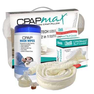 CPAP Deluxe CPAPMax Pillow Comfort Kit | Contour Products - PRO2 Medical Equipment Lubbock