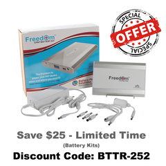 Freedom CPAP Battery Pack | Battery Power Solutions