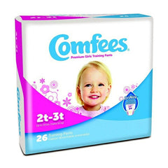Girls Youth Training Pants Comfees Pull On 4T-5T | Comfees #CMF-G4