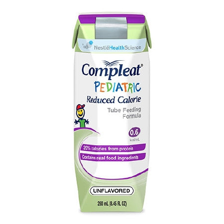 Compleat Pediatric Reduced Calorie Unflavored 24ea Tetra Prisma 250 mL | Nestle Nutrition - PRO2 Medical Equipment Lubbock
