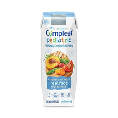 Compleat Pediatric Unflavored 24/cs Tetra Prisma 250 mL | Nestle Nutrition
