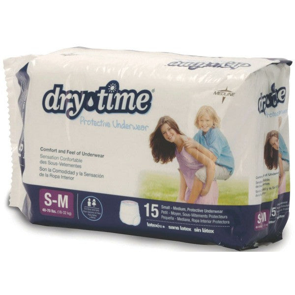 DryTime Disposable Protective Youth Underwear - PRO2 Medical Equipment Lubbock