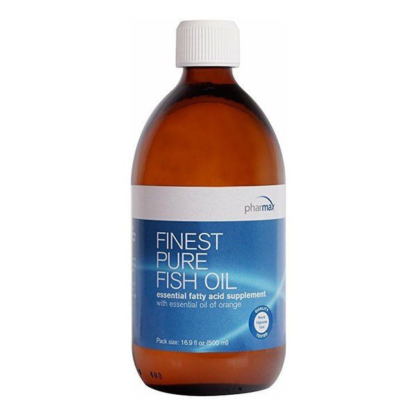 Finest pure fish oil with essential oil of orange pharmax for Pharmax fish oil