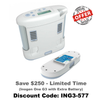 Inogen One G3 Portable Oxygen Concentrator | Inogen - PRO2 Medical Equipment Lubbock