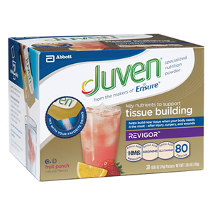 Juven Nutritional Drinks, Juven Orange, Punch, or Unflavored, 24g packet | Abbott