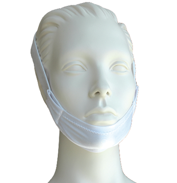 CPAP Chin Strap | Premium Regular White - PRO2 Medical Equipment Lubbock