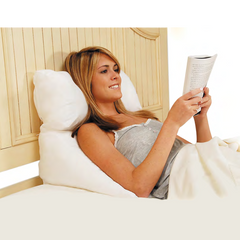 Multi-Purpose Flip Bed Wedge Pillow | Contour Pillow