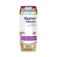 NUTREN PULMONARY Oral or Tube Feeding Formula Vanilla | Nestle Nutrition