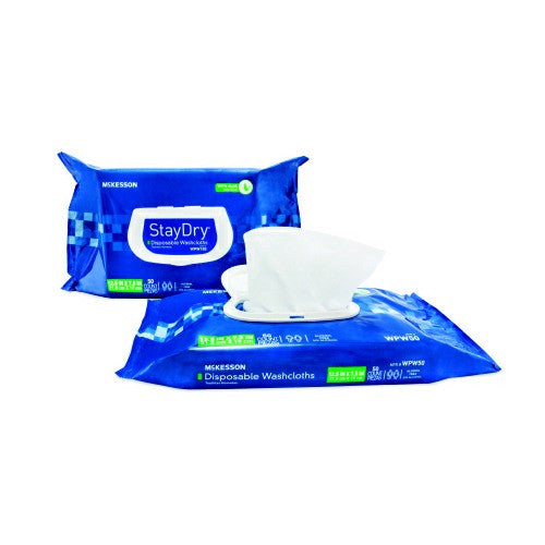 Bath Wipe StayDry 8 X 12 Inch Soft Pack | McKesson - PRO2 Medical Equipment Lubbock