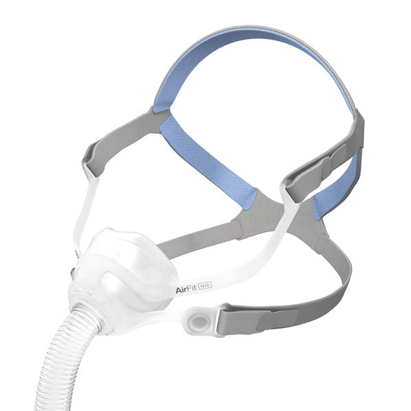 CPAP Nasal Mask AirFit N10 With Headgear | ResMed - PRO2 Medical Equipment Lubbock