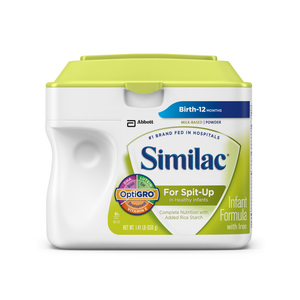 Similac Infant Formula For Spit-Up | Abbott Nutrition