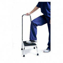 Safety Step Up Stool with Handrail | GrahamField